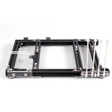 Pc-Case Open-Frame Aluminum-Alloy Design M-ATX DIY 20x20 Test-Platform Heat-Dissipation