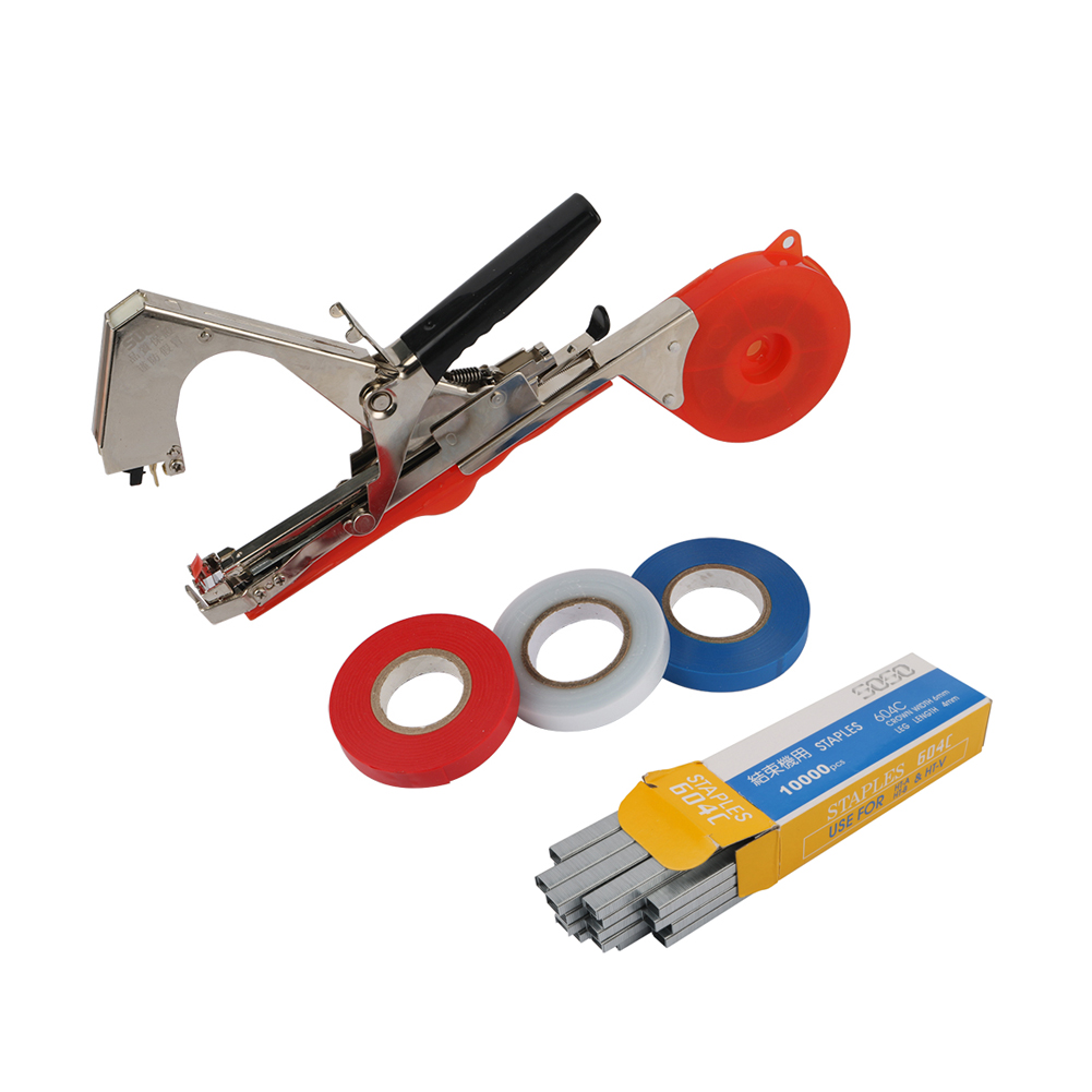 Garden Plants Vines Tying Tapener Plant-Tying Machine Fruit Vegetable Strapping Stem Branches Hand-Tying Device Pruning Tools