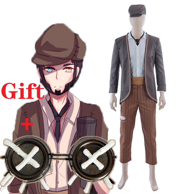 Game Identity V Cosplay Costume Kreacher Pierson Uniforms Cosplay Costume Halloween Party Thief Costumes Customization image