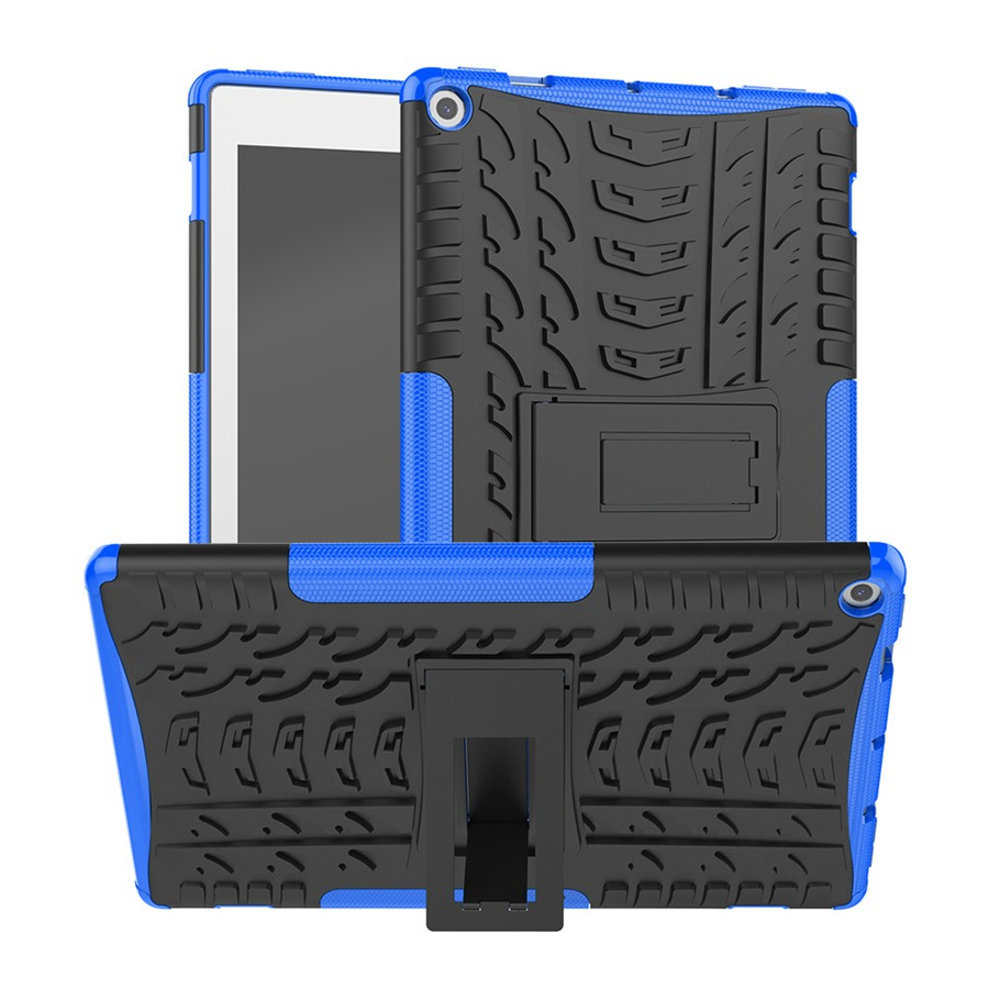 Silicon Hard Back Armor Case For Amazon <font><b>Kindle</b></font> Fire HD <font><b>10</b></font> <font><b>2019</b></font> <font><b>10</b></font>.1 inch <font><b>Cover</b></font> For Amazon <font><b>Kindle</b></font> Fire HD10 2017 Case+Film+Pen image