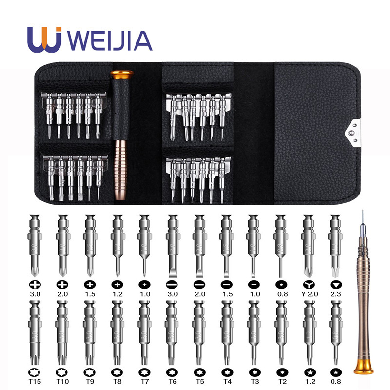 Precision <font><b>Screwdriver</b></font> Set 25 <font><b>in</b></font> <font><b>1</b></font> Hand tools Torx <font><b>Screwdriver</b></font> Repair Tool Set For iPhone Cellphone Tablet PC Worldwide Store image