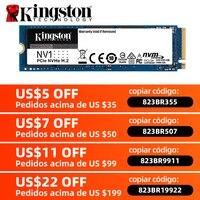 Kingston-disco duro interno de estado sólido para ordenador, dispositivo NV1 NVMe M.2 2280 SATA SSD 2TB a 500GB 1TB SFF para PC Notebook Ultrabook