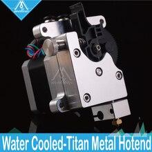 Mellow 3Dชิ้นส่วนเครื่องพิมพ์Titan AQUA Water Cooled Extruderสำหรับ 1.75 MM Filament FDM Reprap MK8 J Head Anet a8 Cr 10 E3d V6 Hotend