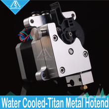 Peças da impressora mellow 3d, extrusora de água de titan aqua com filamento de 1.75mm, anet j head de fdm reprap mk8 a8 cr 10 e3d v6 extremidade