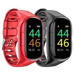2020 M1 Newest AI Smart Watch Heart Rate Monitor Smart Wristband Long Time Standby Sport Watch Men With A TWS Bluetooth Headset