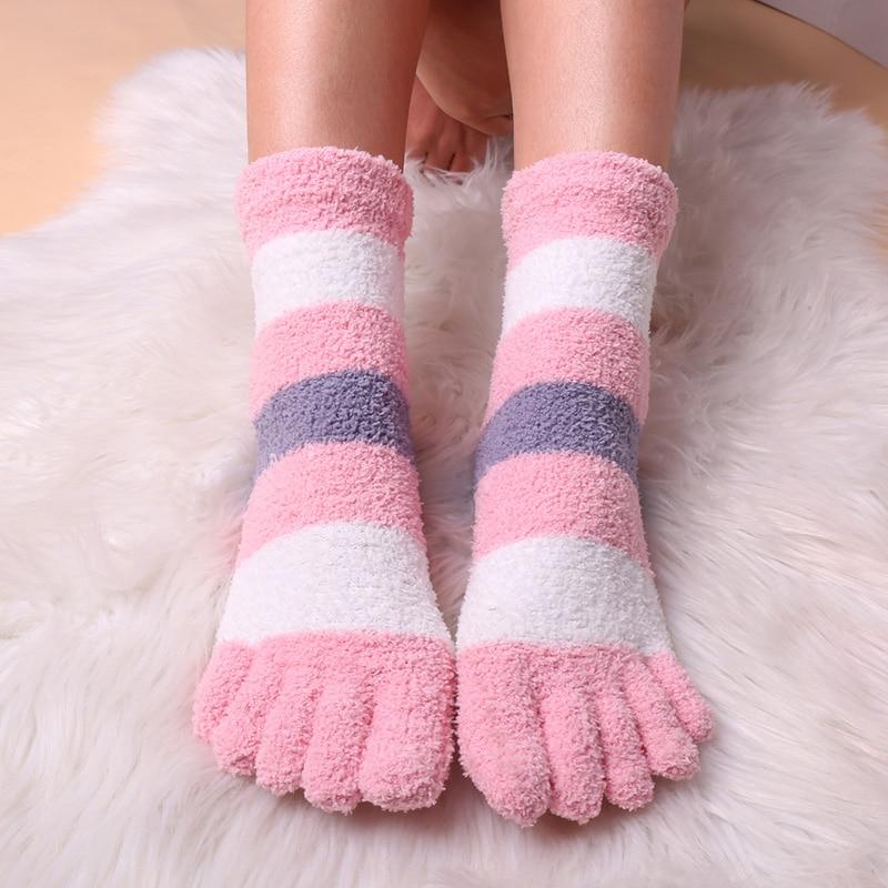 3 пары, женские носки для кровати