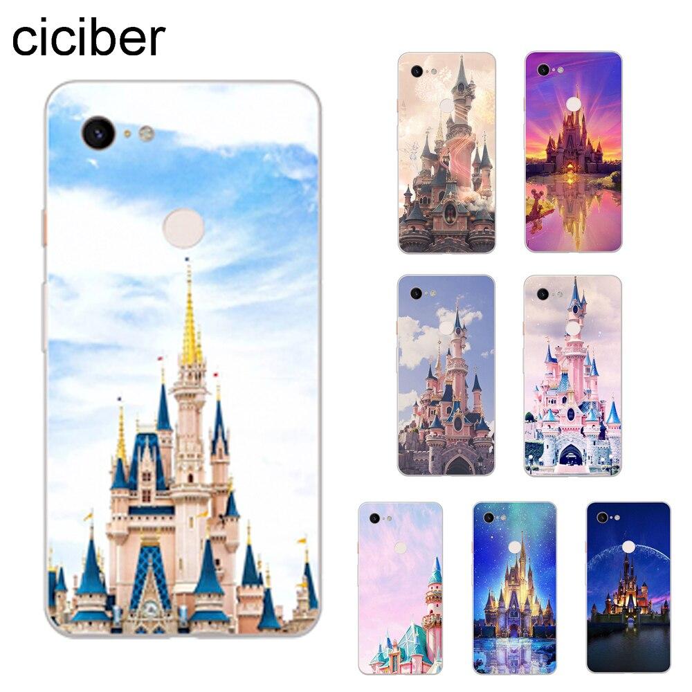 Disney Castle Soft Silicone Cover Case