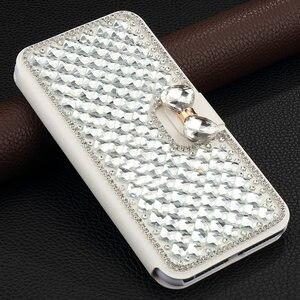 Роскошный блестящий кожаный чехол Pepmune с бриллиантами для Huawei P20 Lite Mate 20 Pro, милый чехол-бумажник с откидной крышкой и подставкой для девочек