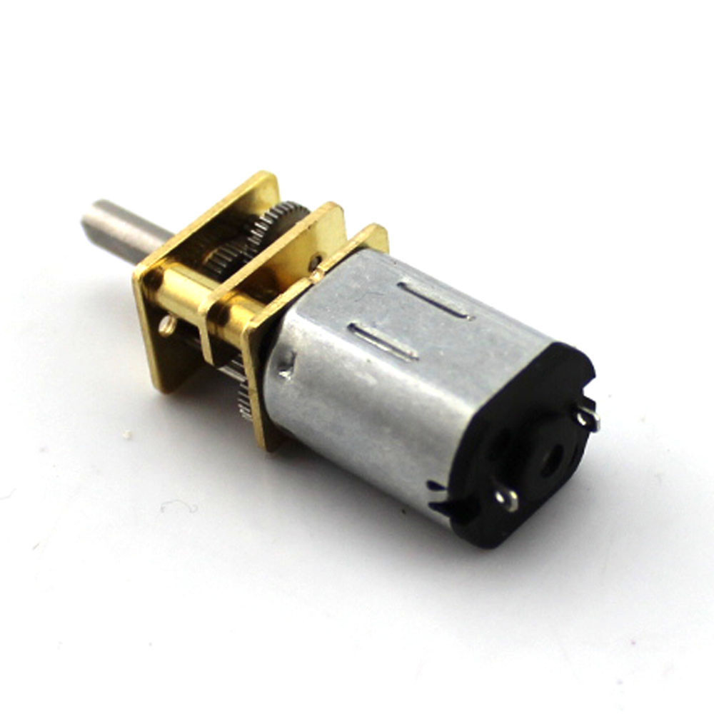 1Pcs 3V 6V 12V DC N20 Mini Micro Metal Gear Motor with Gearwheel DC Motors 15 <font><b>30</b></font> 50RPM 100 200RPM 300 <font><b>500</b></font> 1000 RPM image