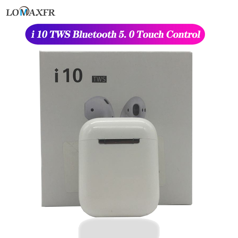 I10 Tws Wireless Headphones In Ear Bluetooth Earphone Noise Cancelling Earbuds Handsfree Headset For Iphone Pk I12 I30 I7s I9s