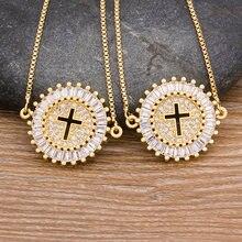 2020 Модная Золотая цепочка с украшением в виде кристаллов Ожерелье