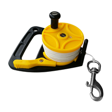 Snap Kayak-Anchor Scuba-Dive-Reel Diving Snorkeling Underwater 150ft with Thumb-Stopper