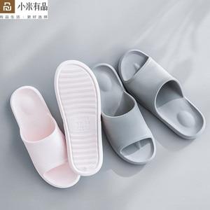 Image 1 - Youpin Leisure บ้านผู้ชายผู้หญิงรองเท้าแตะป้องกันฝุ่นกันลื่น Soft ชุดว่ายน้ำด้านล่าง Flip Flop น้ำหนักเบา Sandal สำหรับ Xiaomi