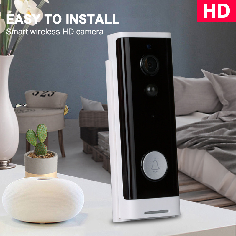 Wifi Doorbell Camera Smart WI-FI Video 1080P Intercom Door Bell Video Call For Apartments IR Alarm Wireless