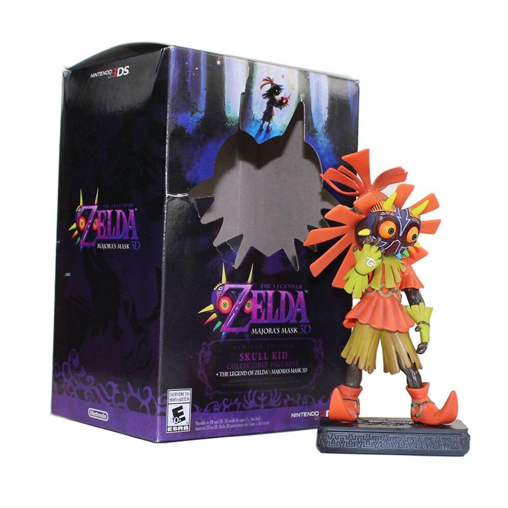 15 см The Legend Figure Toy Majora's Mask 3D череп Детская Коллекционная фигурка кукла игрушка для детей Подарки