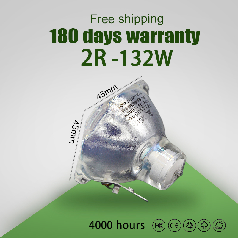 Hot Sale Stage Light 132W-120W 2R Metal Halide Lamp Moving Beam Lamp 132W-120w Beam Platinum Metal Halogen Lamps Follow Spot