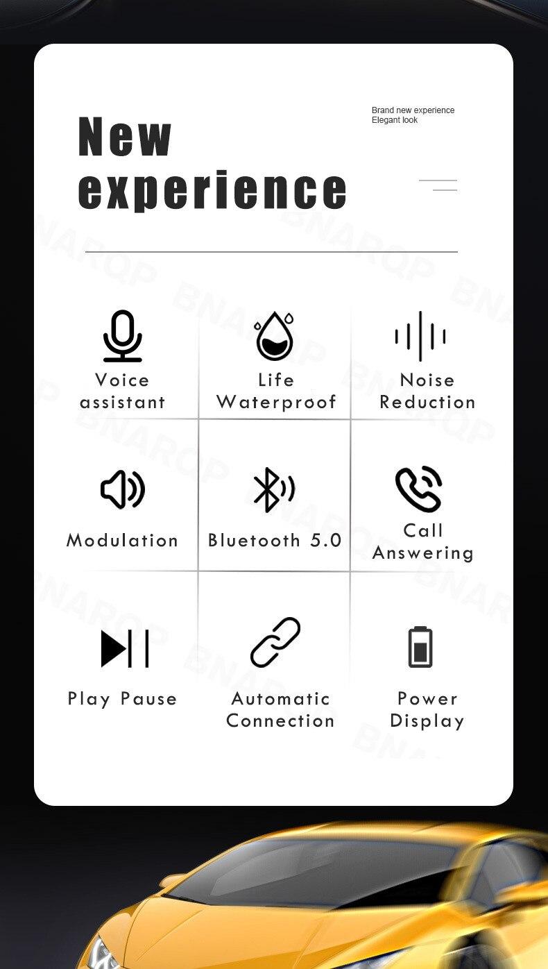 Esporte sem fio fones de ouvido sem