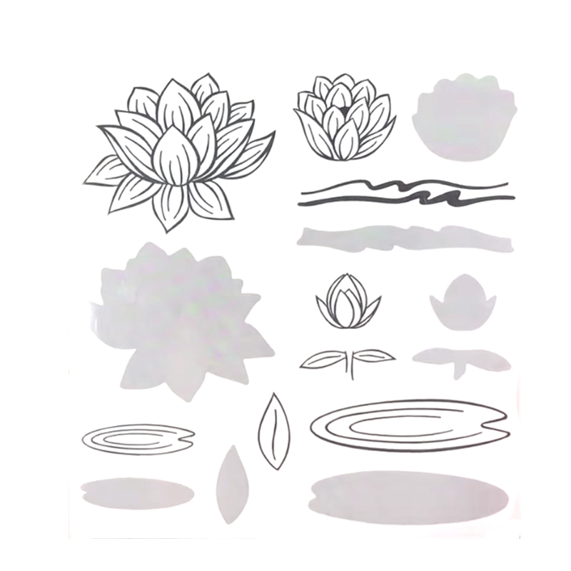 2019 3D DIY New Metal Cutting Dies And In Scrapbooking For Paper Making Flowers Embossing Frame Card Clear With Craft Stamps Set