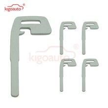 kigoauto smart keyless entry emergency key for volvo 5wk49266 xc60 xc70 v70 s80 car key blade uncut replacement Kigoauto 5pcs smart key keyless entry for Volvo key  KR55WK49250 C30 C70 S40 V50 emergency car key