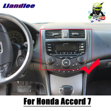 Android 9 0 samochodowy odtwarzacz multimedialny dla Honda Accord 7 2003 ~ 2007 2 Din wieża Stereo DSP GPS mapa do nawigacji i multimediów tanie tanio Liandlee CN (pochodzenie) Double Din 10 1 256G Video cd Jpeg Hardware Electronics 1080P bluetooth Wbudowany gps Odtwarzacz cd