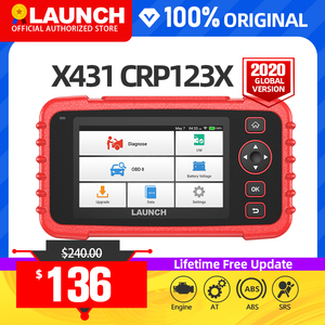 Image 1 - Launch x431 crp123X obd2 스캐너 자동 코드 리더 자동차 진단 도구 ENG AT ABS SRS 진단 스캐너 자동차 도구 crp123