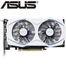 ASUS ekran kartı orijinal GTX 1050 Ti 4GB 128Bit GDDR5 grafik kartları nVIDIA VGA kartları Geforce GTX 1050ti kullanılan 950 960 750