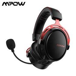 Mpow Air Pro 2,4G Беспроводная игровая гарнитура 7,1 объемный звук USB/3,5 мм наушники с шумоподавлением микрофоном для PS4 PC Gamer