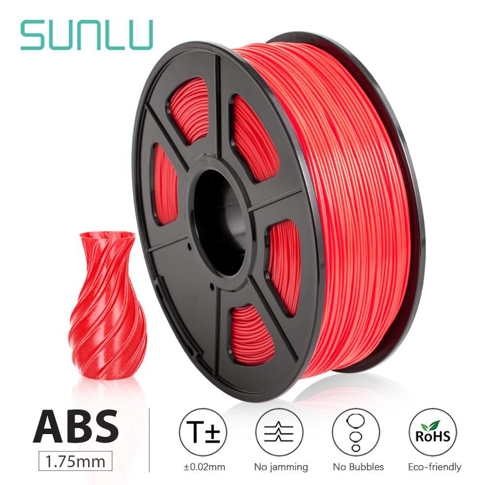 SUNLU 3D filamento ABS 1,75mm fabricante Multi-Colores 1kg carretes de plástico 3D impresora filamento impressora 3D filamento Protector de protección para Kawasaki Ninja 250 Ninja 400 2018 2019 plástico ABS