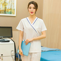 Brush the hand to take female hospital beauty parlor doctor wash clothes pet hospital dental operating clothes