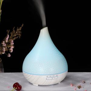 Image 4 - Heureusement 400ML ultrasons aromathérapie humidificateur huile essentielle diffuseur purificateur dair brumisateur fabricant arôme diffuseur brumisateur maison