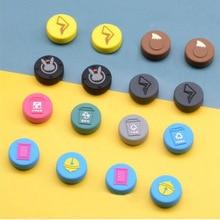 4 pièces thème créatif pouce bâton poignée capuchon Joystick couverture pour Nintend Switch Lite NS Joy Con contrôleur manette