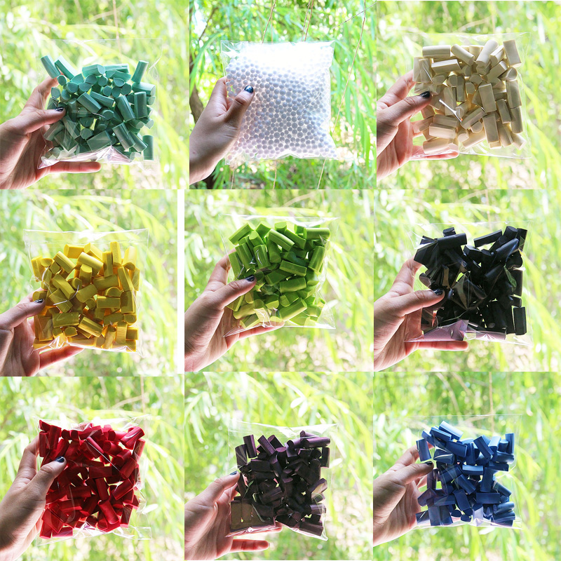 70pc/bag Sponge Slime Bead Slime Supplies Accessories For Stuff Foam Slime Clay Plasticine Supplies Fluffy Glue Toy For Children