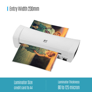 """Image 2 - A4 9"""" Office Hot&Cold Photo Laminator Roll Laminator Thermal Laminating Machine for A4 Document Photo"""