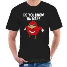 Sabe usted da WAE divertido Uganda knuckle camiseta @063440
