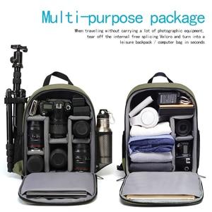 Image 3 - Cadenカメラバックパック多機能デジタル一眼レフカメラバッグ防水バッグ屋外カメラ写真ニコン、キヤノン、ソニー