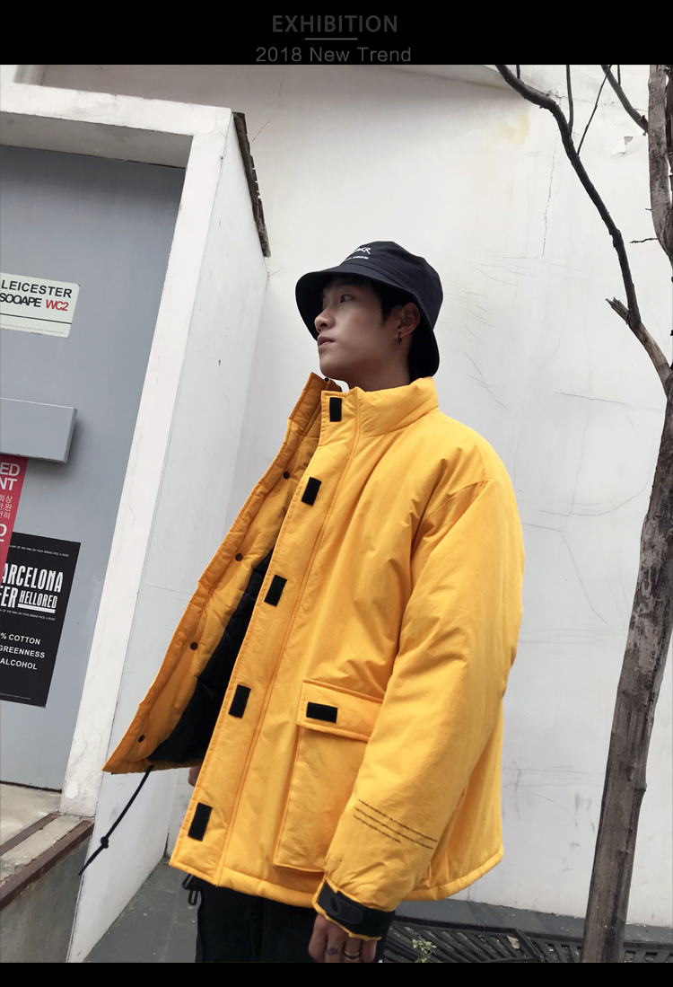 Men's Quality Student Winter Clothes Jacket Men Parka Thick Warm Outwear Korean Youth Streetwear Hip Hop Japan Style Harajuku 21