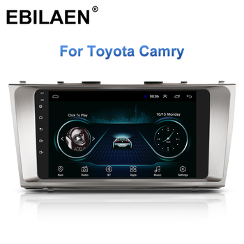 Car Radio Multimedia Player For Toyota Camry 40 2006-2011 Autoradio 2Din Android 10.0 GPS Navigation Tape Recorder Stereo image