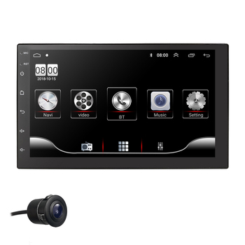 """7""""Car Multimedia Player 1G+16G for Android 9.0 Car Stereo 2DIN Bluetooth WIFI GPS Nav Quad Core Radio Video MP5 Player 4G SWC"""