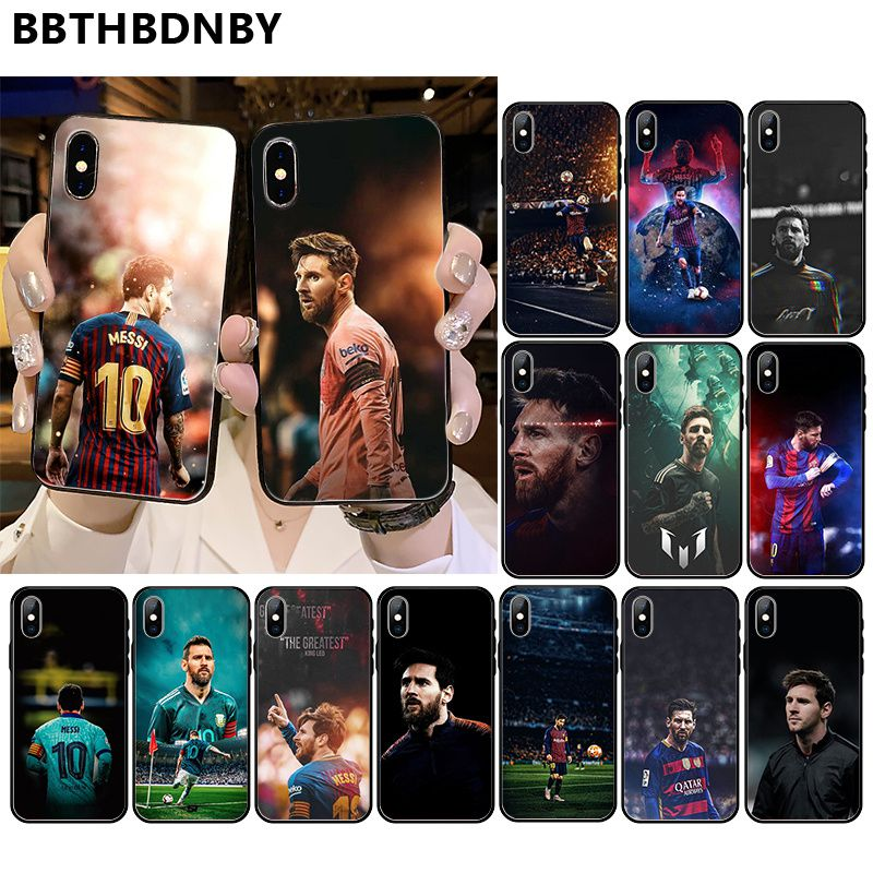 For Iphone 11 MESSI Coque Painted Beautiful Phone Case Bumper For IPhone 11 Pro XS MAX 8 7 6 6S Plus X 5 5S SE XR Case