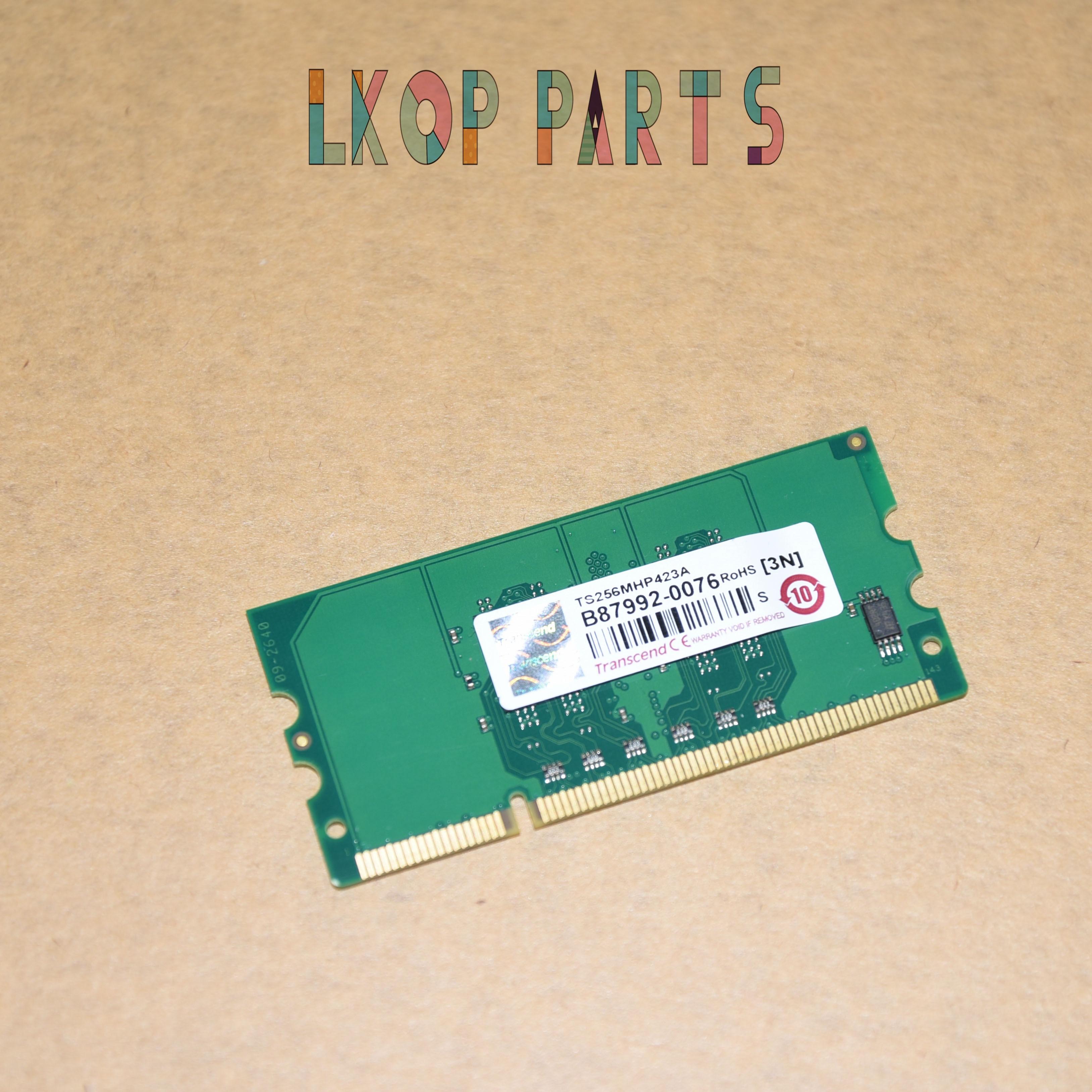 1pcs  256MB Memory Module For HP P2015 P2055 P3055 M2727 M475 CM2320 CP2025 M351a M451 CP1515 CP1518 CP5220 CP5225 CB423A 256MB