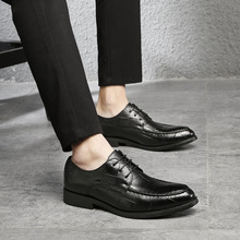 2018 Ltalian Luxury Designer Formal Mens Dress Shoes Genuine Leather Black Basic Flats For Men Wedding Office plus size Oxford цены онлайн