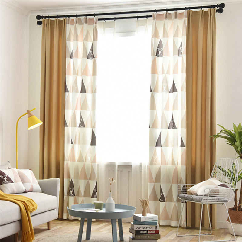 Hot Offer #601eb - Nordic Style Window Curtain Finished ...
