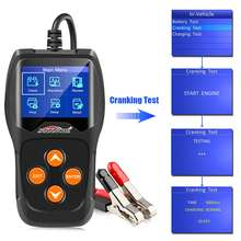 Kw600 12V Car Battery Detector Battery Car Battery Detector Car Battery Testing Car Diagnostic Equipment Kw 600(China)