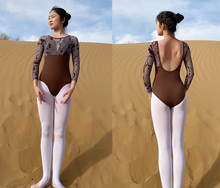 Long Sleeve Ballet Dance Leotards Women 2020 High Quality Gymnastics Dancing Coverall Adult Ballet Exercise Leotard
