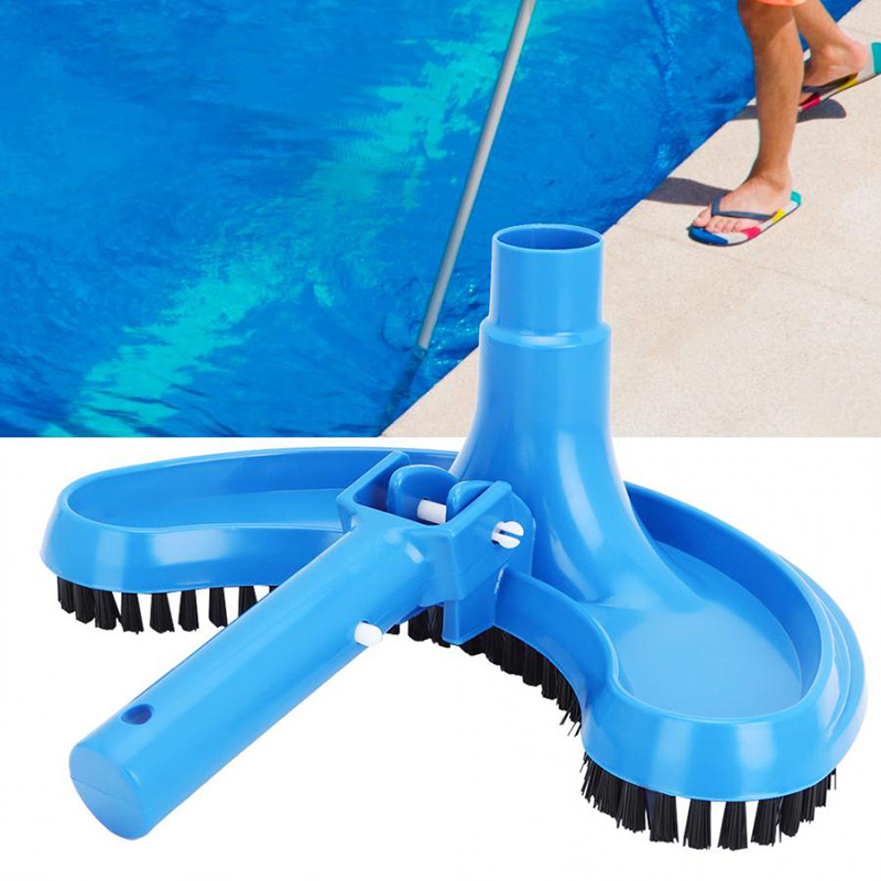 Hot Sale Pool Vacuum Head Half Moon Shape Flexible Swimming Pool Curved Suction Head Cleaning Accessory X85