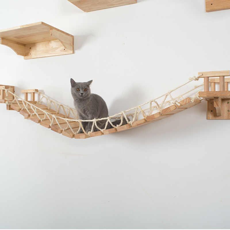 echelle murale en bois pour chat w201