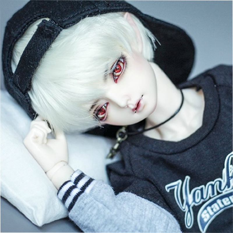 NEW 1/4 BJD Boy Doll Elf Ear For Children Baby Birthday gift