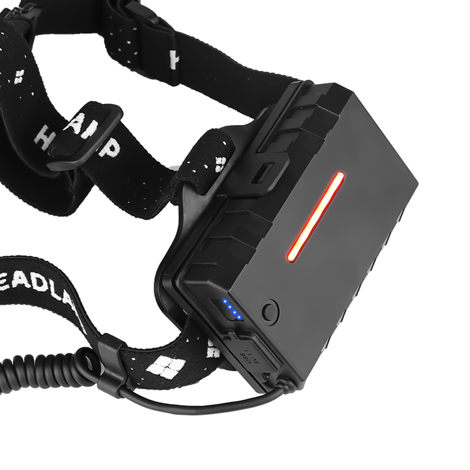 Image 4 - XHP70.2 New arrive The most powerful Led headlamp Headlight XHP50.2 zoom head lamp power bank 7800mah 18650 battery Z90+2063Headlamps   -