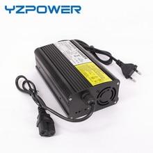 Yzpower 29.4v 10a carregador de bateria de lítio para 24v 10a 40ah 60ah 80ah lipo bateria ebike e bike bicicleta elétrica e scooter
