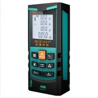 레이저 미터 전자 측정 장비 S9 50M 레이저 거리 측정기 거리 측정기 mileseey에서 파란색 측정